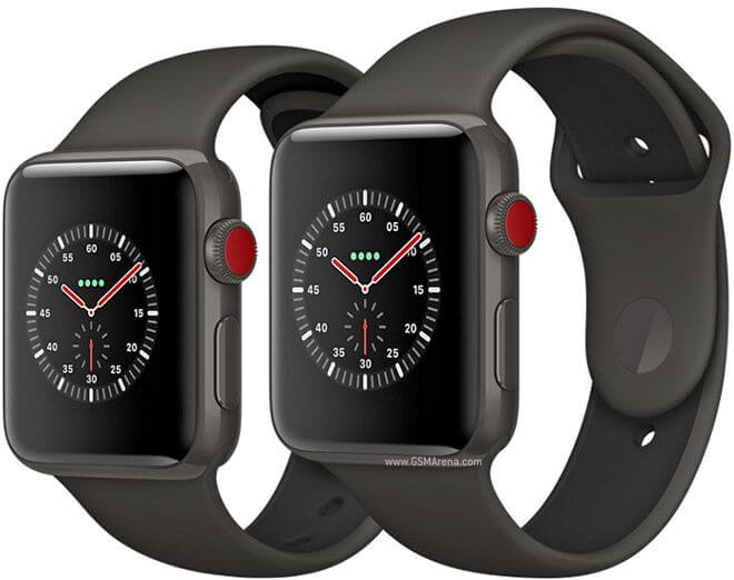 Apple Watch Series 3 Sport черные