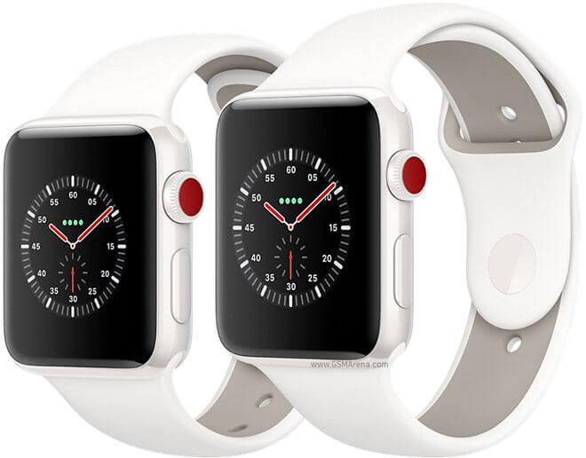 Apple Watch Series 3 Sport белые