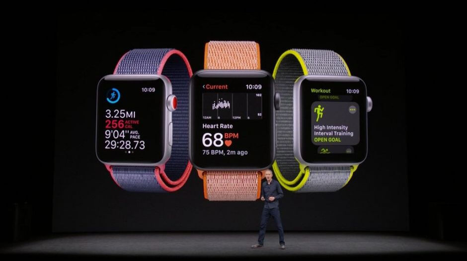 Новый дизайн Apple Watch Series 3