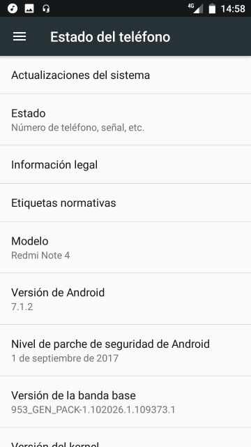 Android One порт на Xiaomi Redmi Note 4 Note 4X