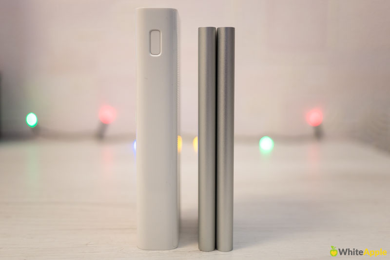 Xiaomi Mi Power Bank 2 20000 vs 5000 mAh