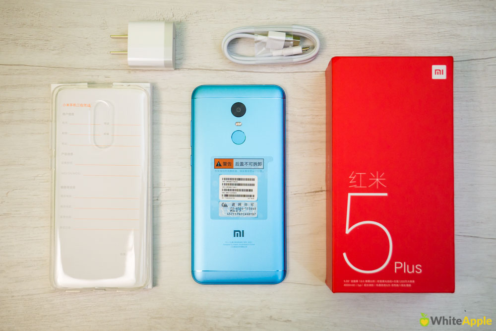 Комплект поставки Xiaomi Redmi 5 Plus