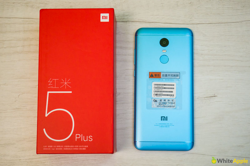 Смартфон Xiaomi Redmi 5 Plus Blue