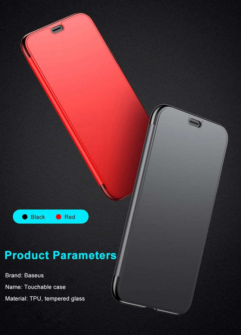Baseus Touchable Case для iPhone X
