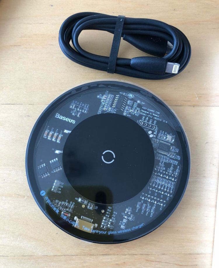 Baseus 10W Qi Wireless Charger для iPhone XS